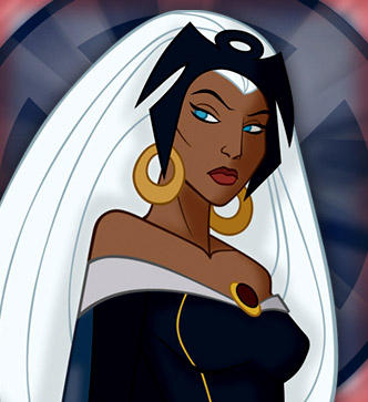 """""""Marvel's first black mutant with features as white as the hands of her creator"""""""