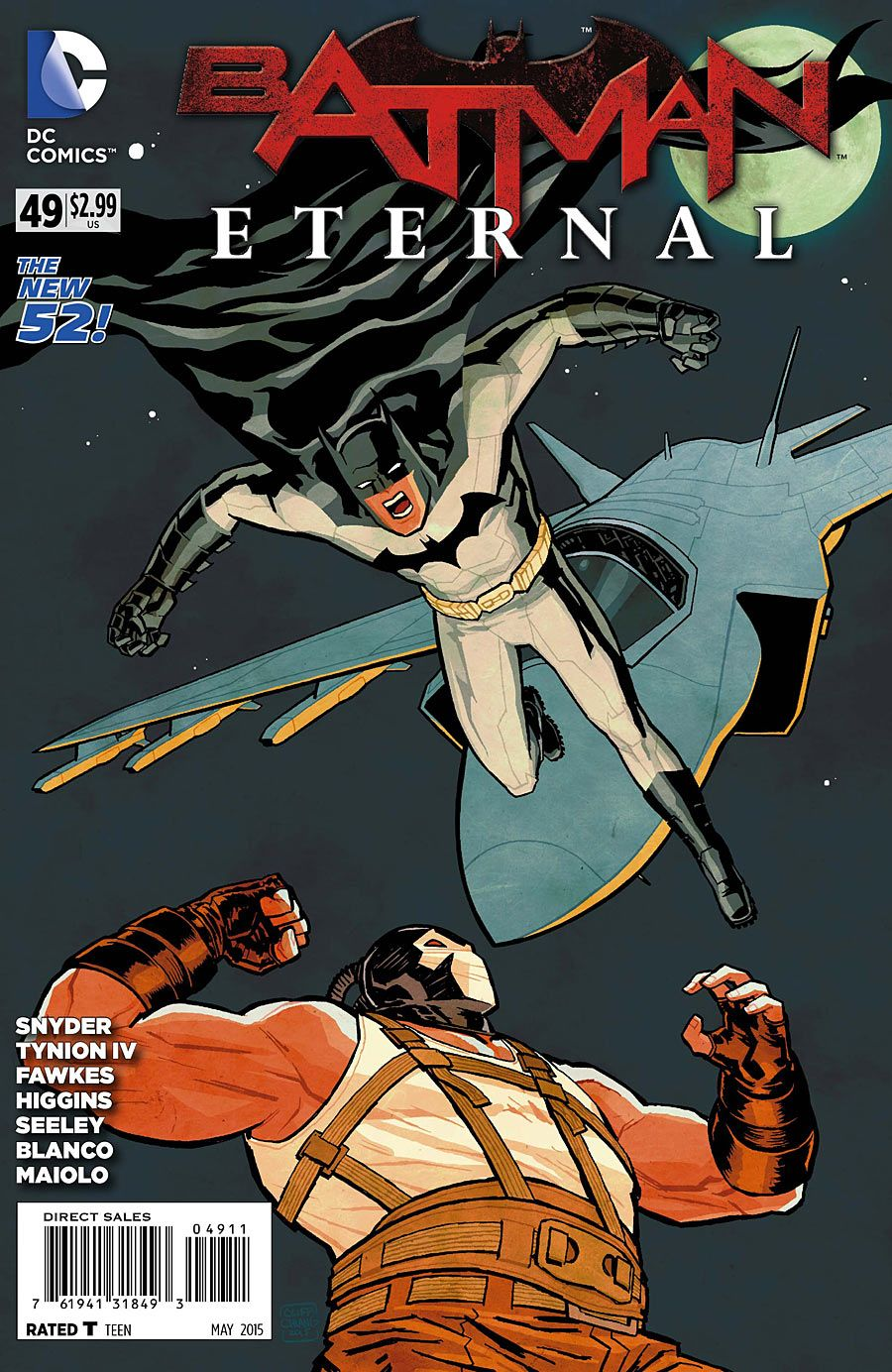 Batman Eternal #49 Review