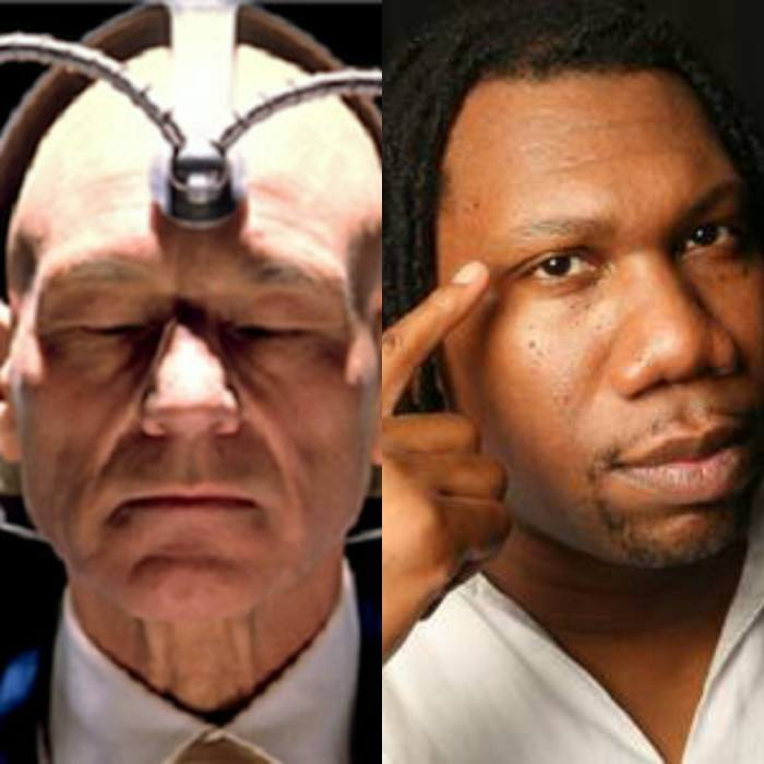 KRS and Professor X would battle each other mentally With rhymes, these two team captains waste no time""