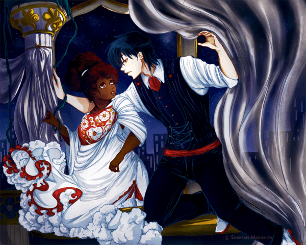 Interracial relationship art share