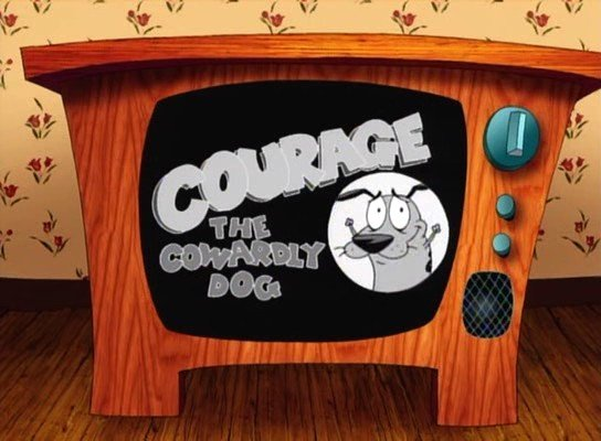 "Staff Beef: Courage the Cowardly Dog, the Gold in Cartoon Network's ""Golden Age"""
