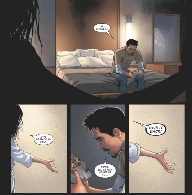 Invincible Iron Man #2 Panel