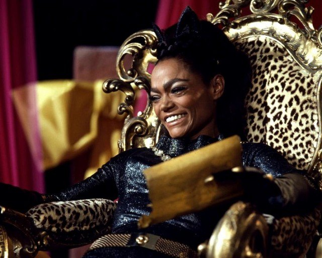 Top 5 Dead or Alive: Eartha Kitt (Catwoman)