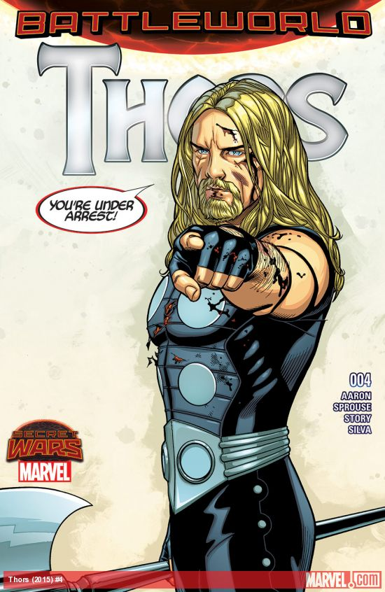 Thors #4 Review