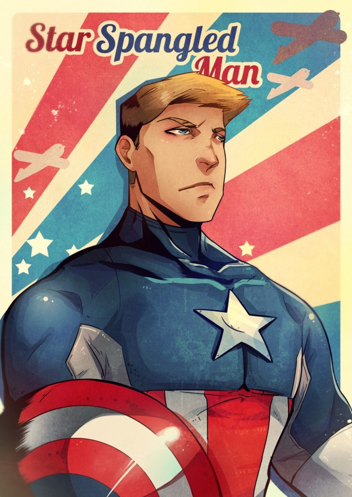 Having A Hate-Love Relationship With Captain America