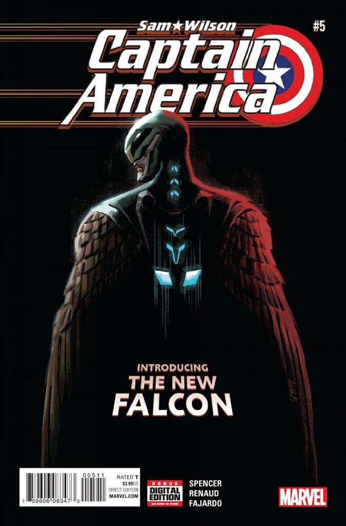 Captain America Sam Wilson #5 Cover