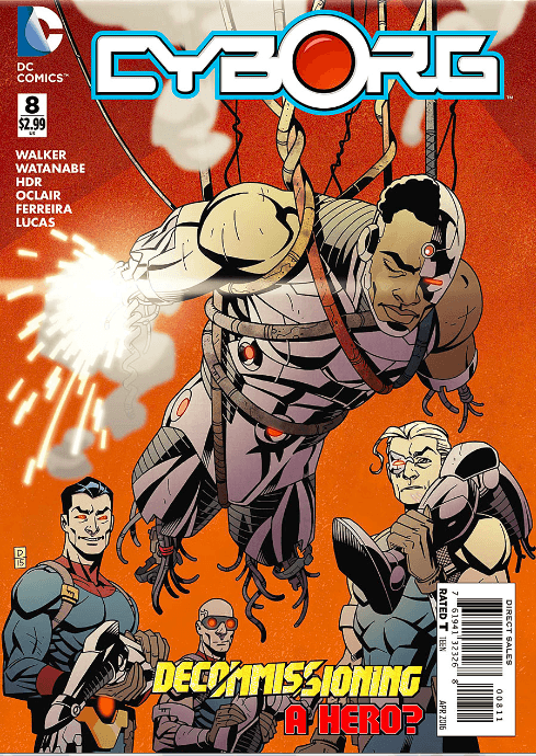Cyborg #8 Review