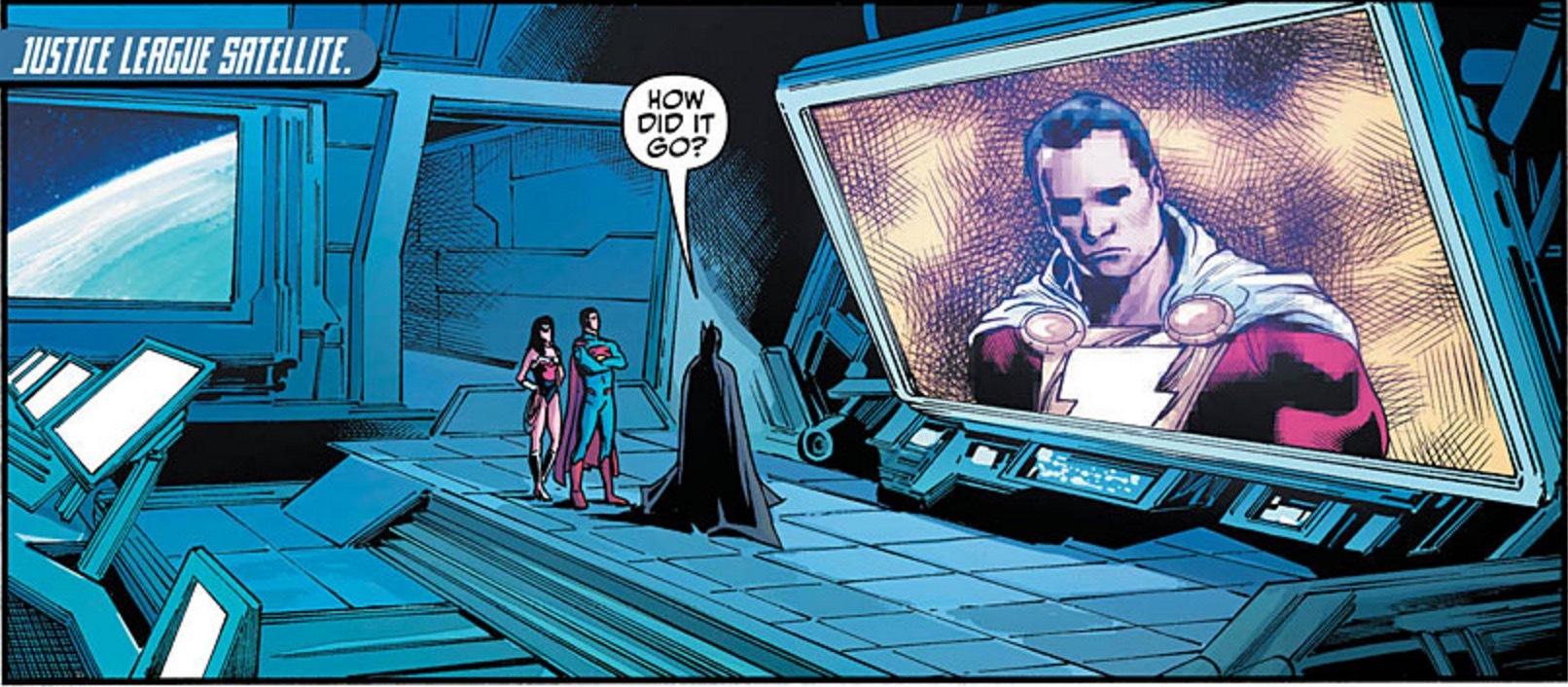 Cyborg #10 Panel 1