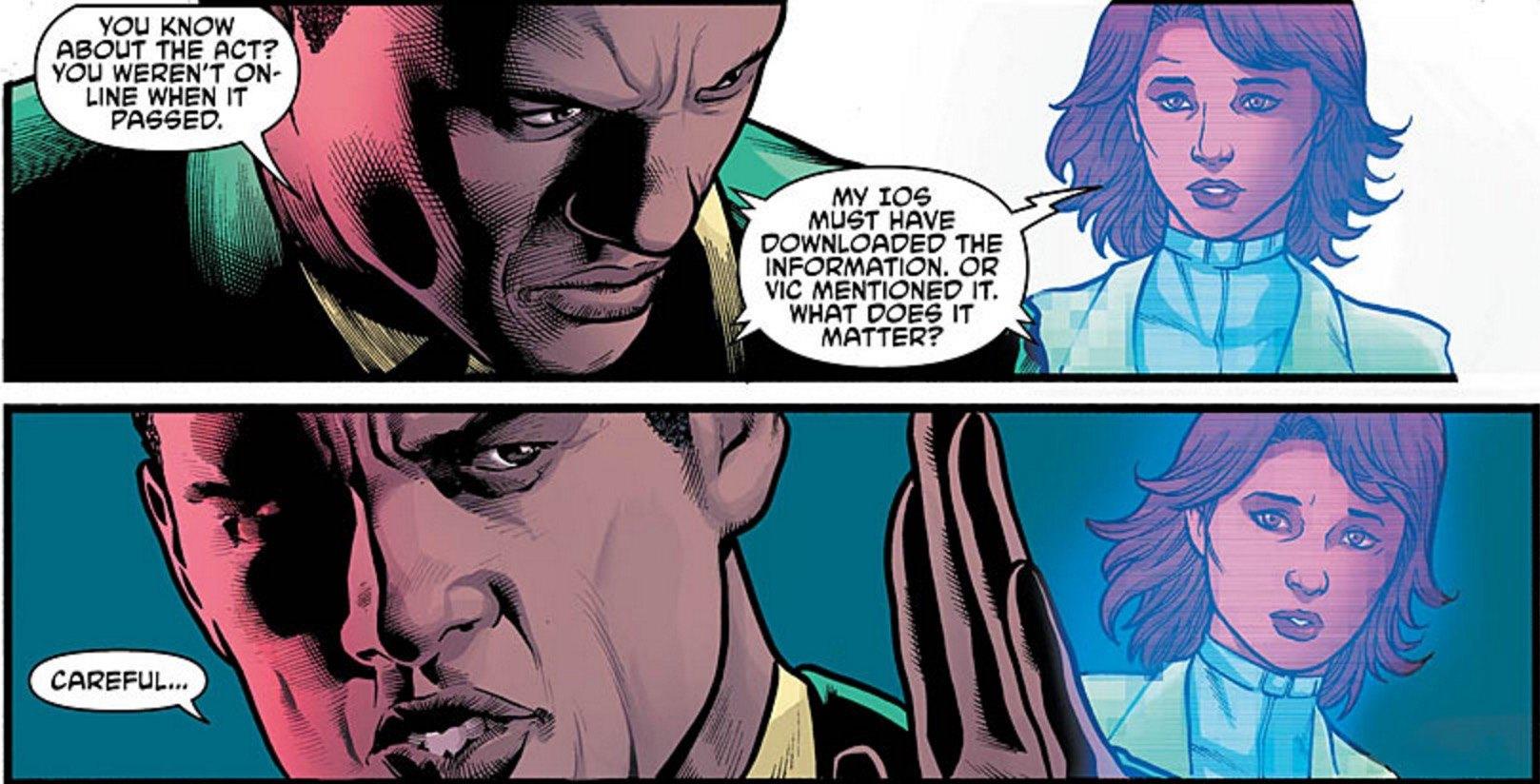 Cyborg #10 Panel 2