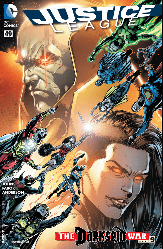 Justice League #49 Review