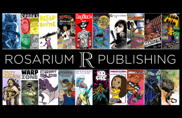 Rosarium Publishing Group Shot of book covers