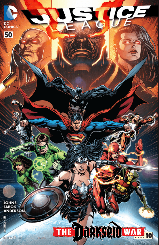 Justice League #50 Review