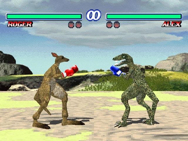 Tekken Kangaroo Raptor