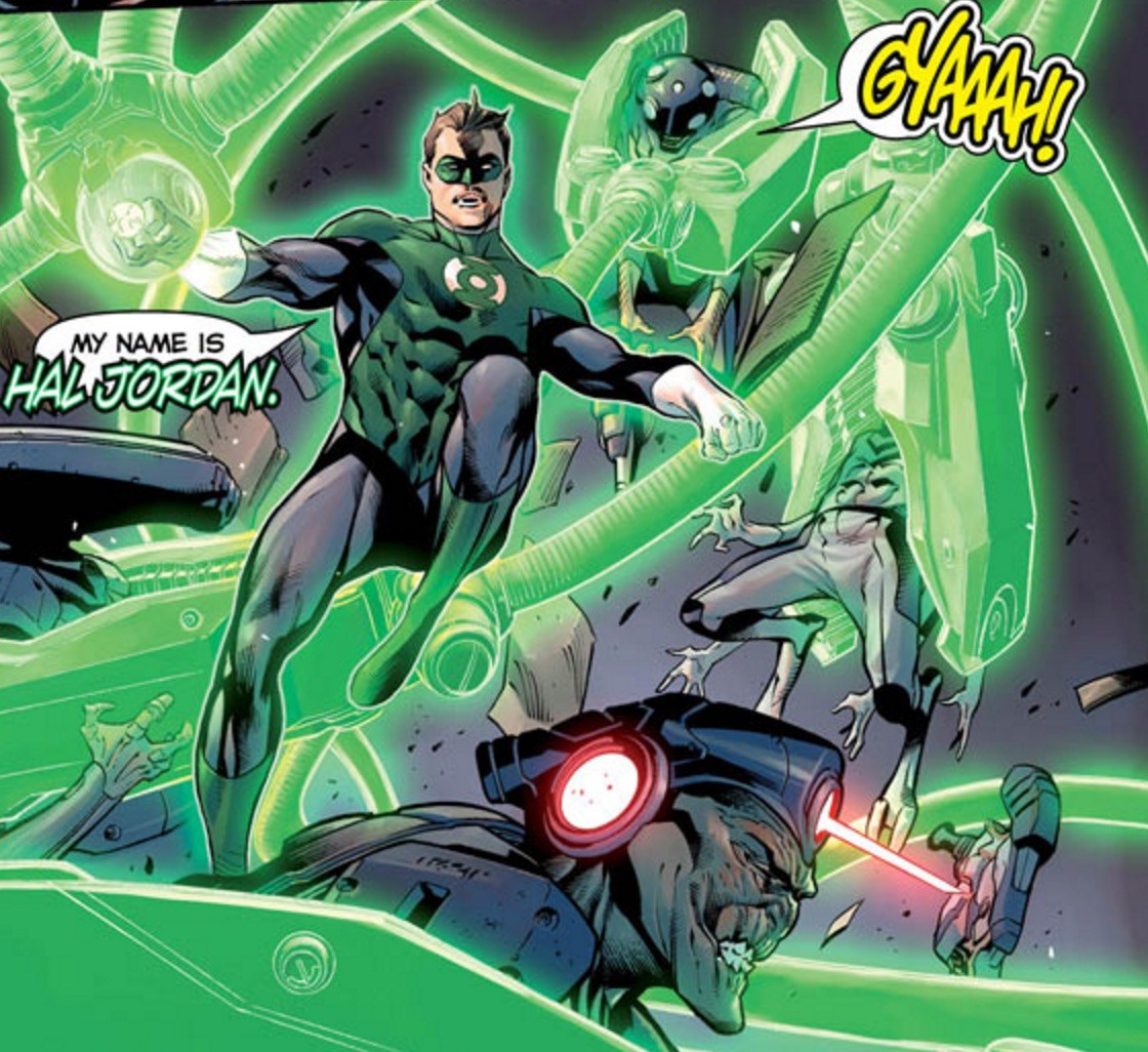 Hal Jordan Green Lantern #1 Panel