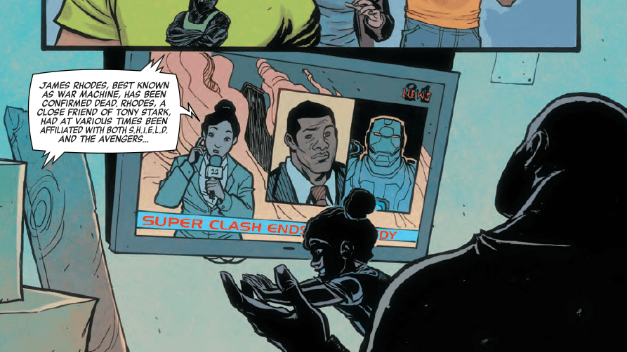Power Man Iron Fist #6 Panel 2