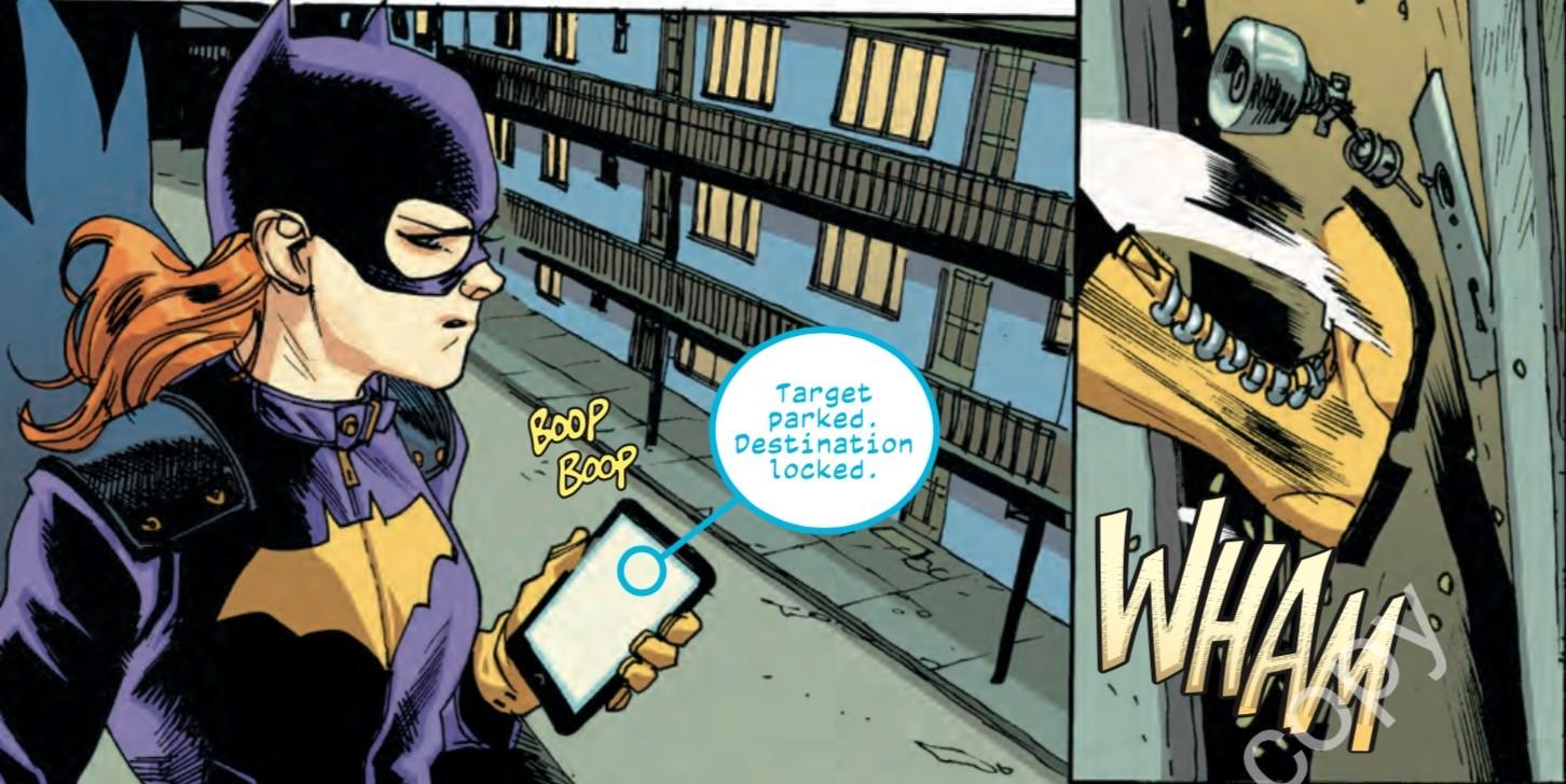 Batgirl #2 Panel 1