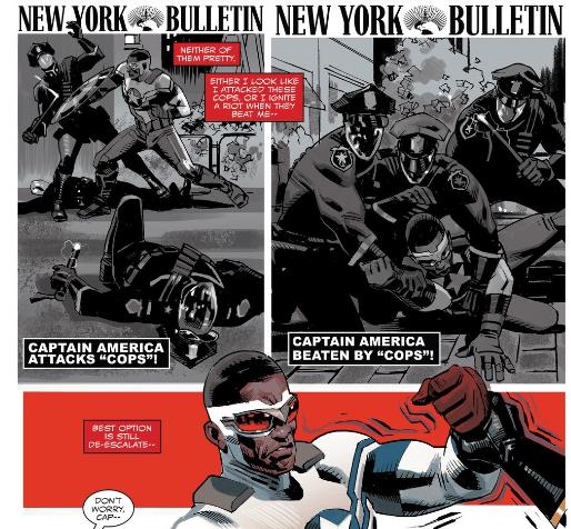 Captain America - Sam Wilson Panel