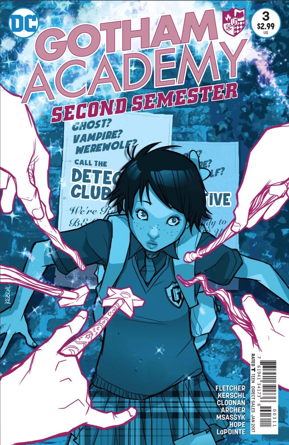 Gotham Academy Second Semester #3 Review