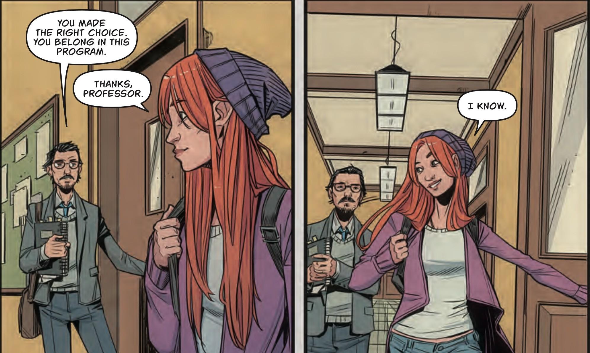 Batgirl #7 Panel 2