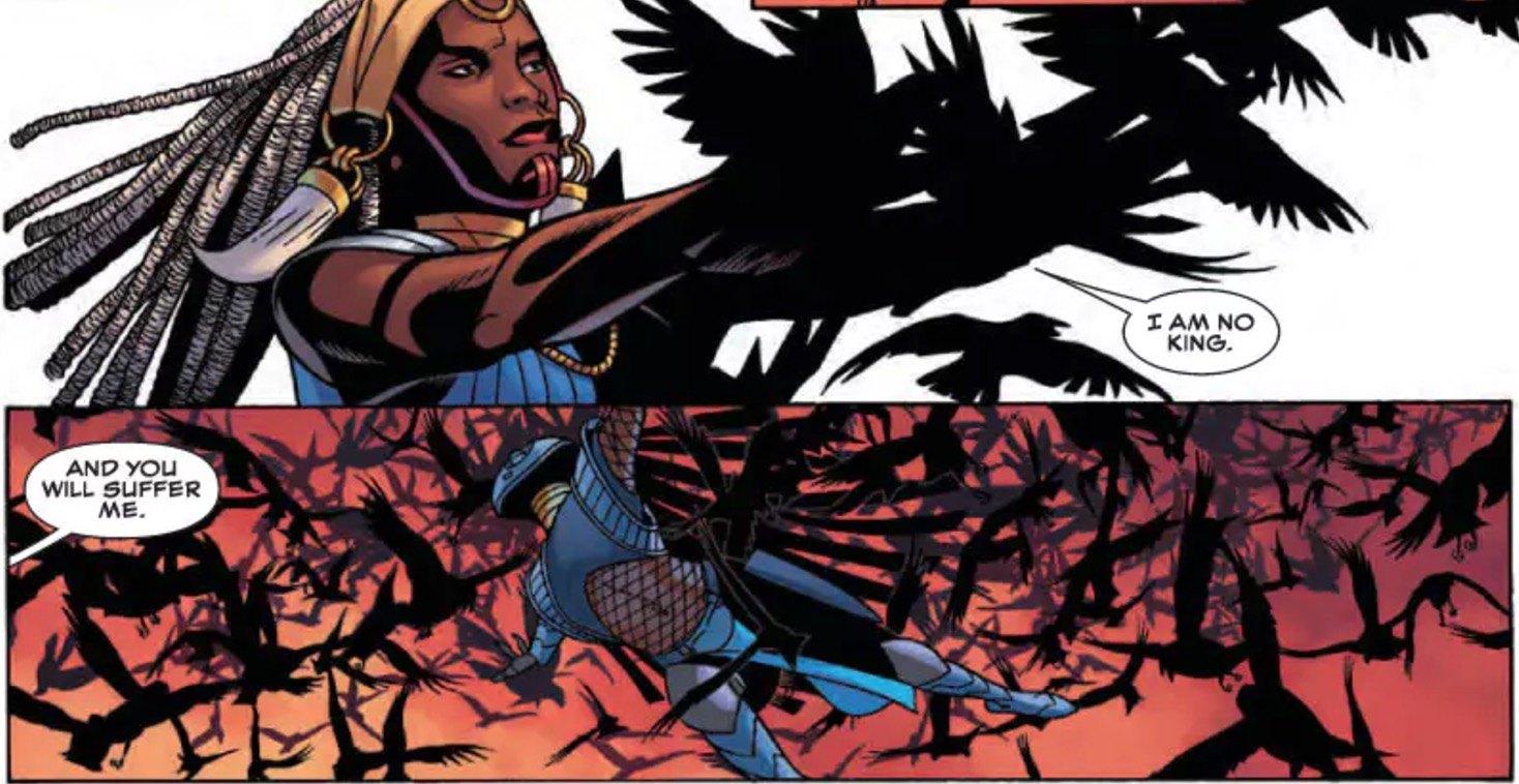 Black Panther #10 Panel