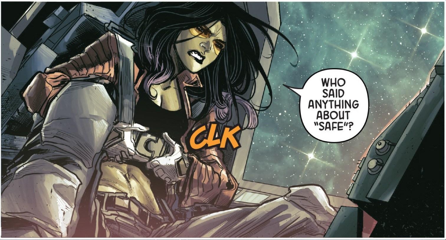 Gamora #2 Panel 1