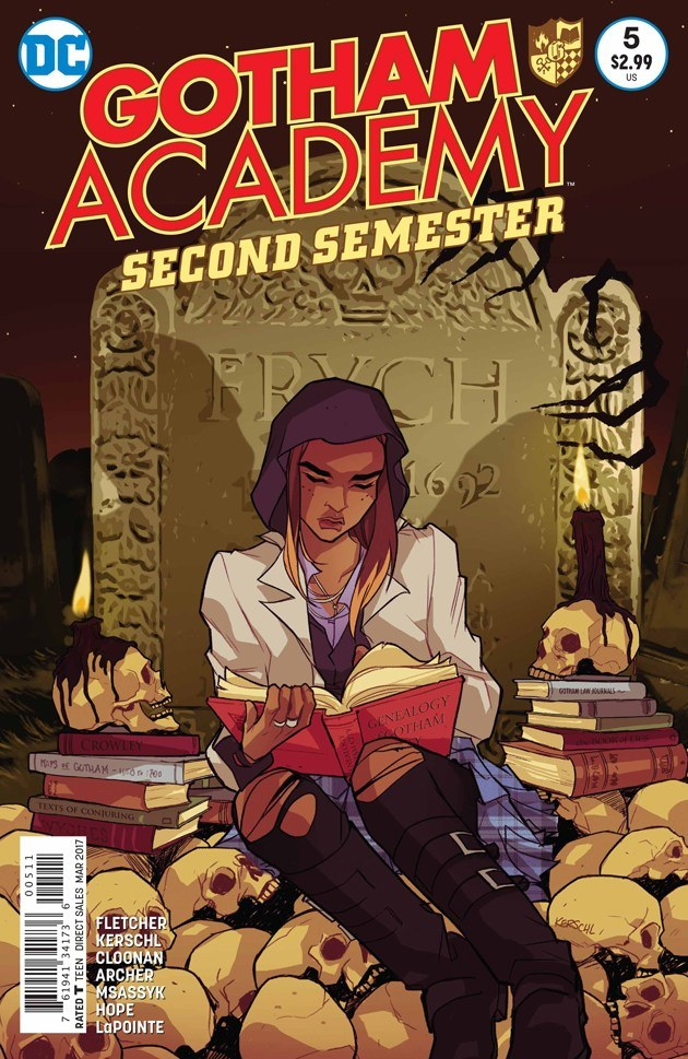 Gotham Academy Second Semester #5 Review