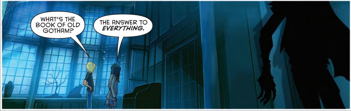 Gotham Academy Second Semester #5 Panel 2