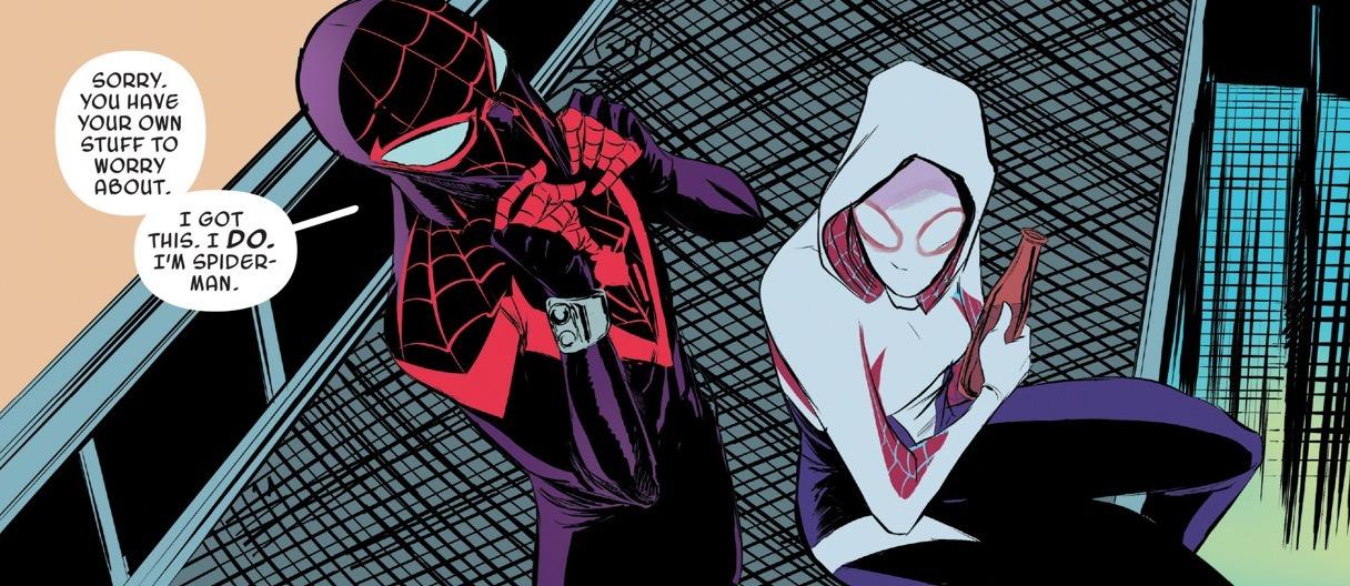 Spider-Gwen #16 Panel 1