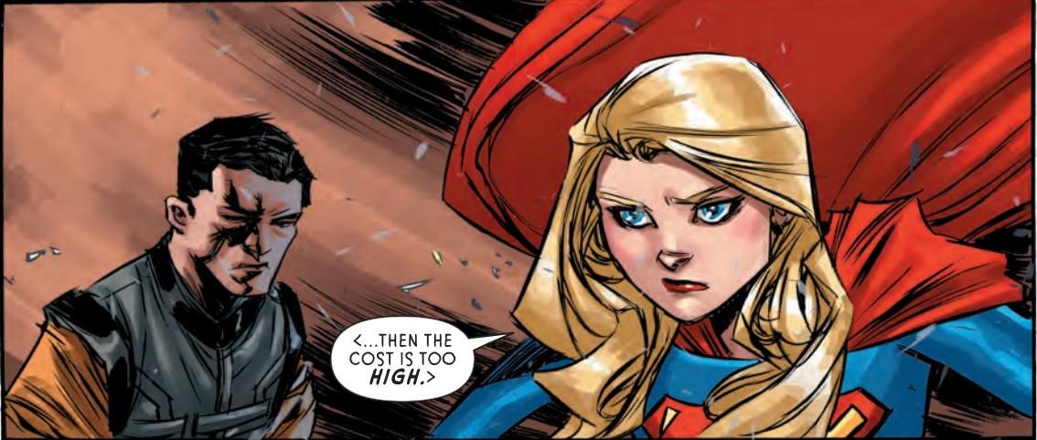 Supergirl #5 Panel 2