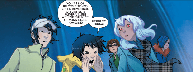 Gotham Academy Second Semester #6 Panel 2