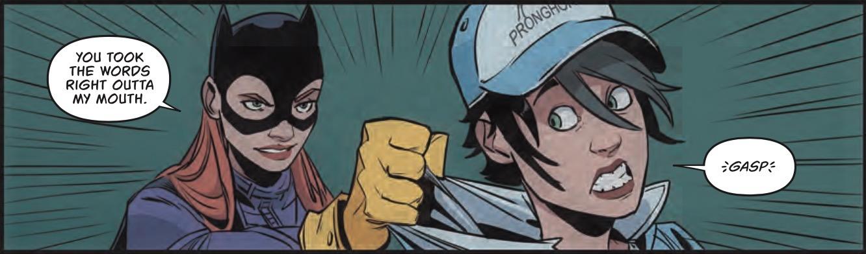 Batgirl #9 Panel 1