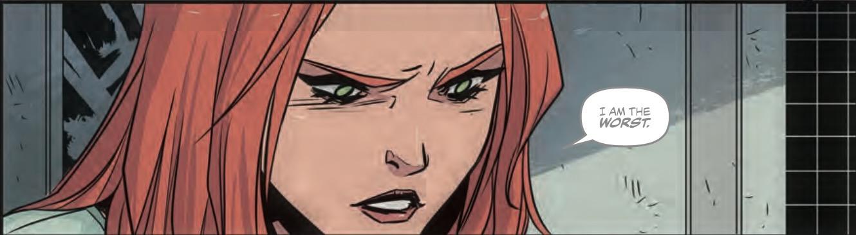 Batgirl Annual #1 Panel 2