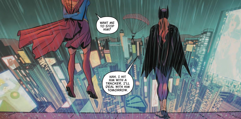 Batgirl Annual #1 Panel
