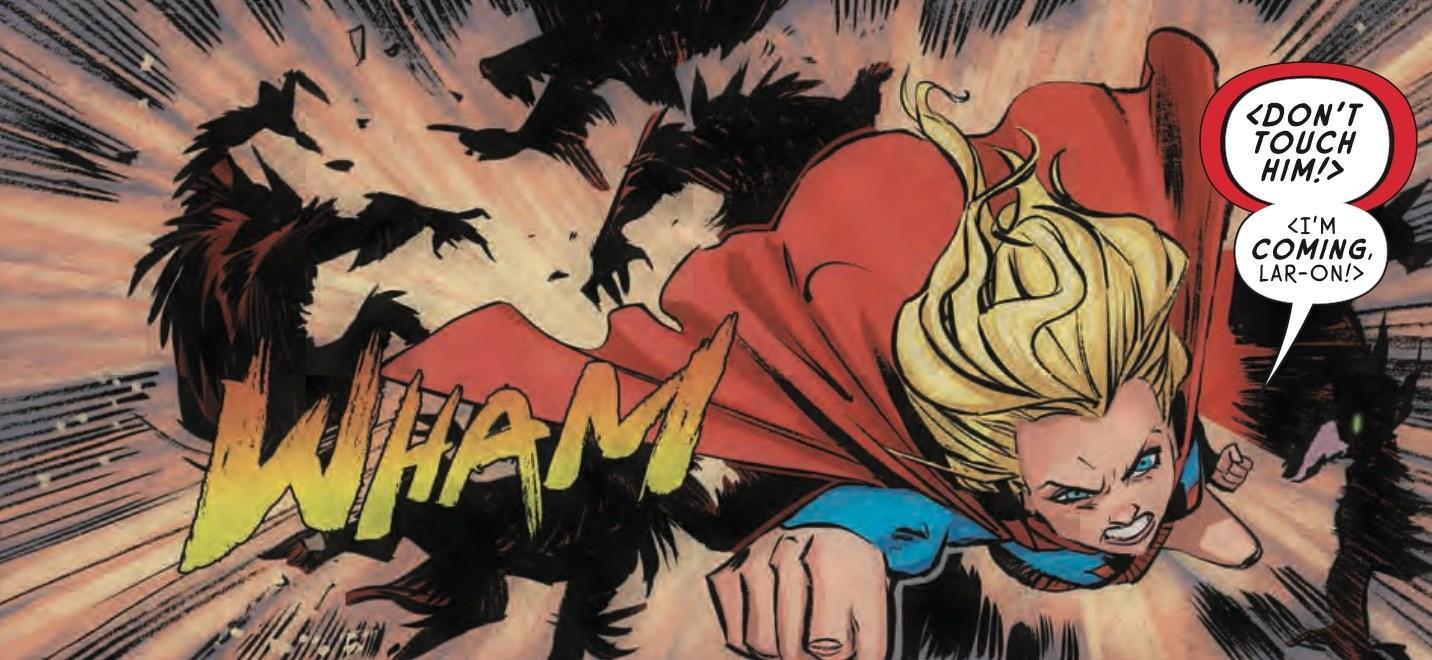 Supergirl #7 Panel 2