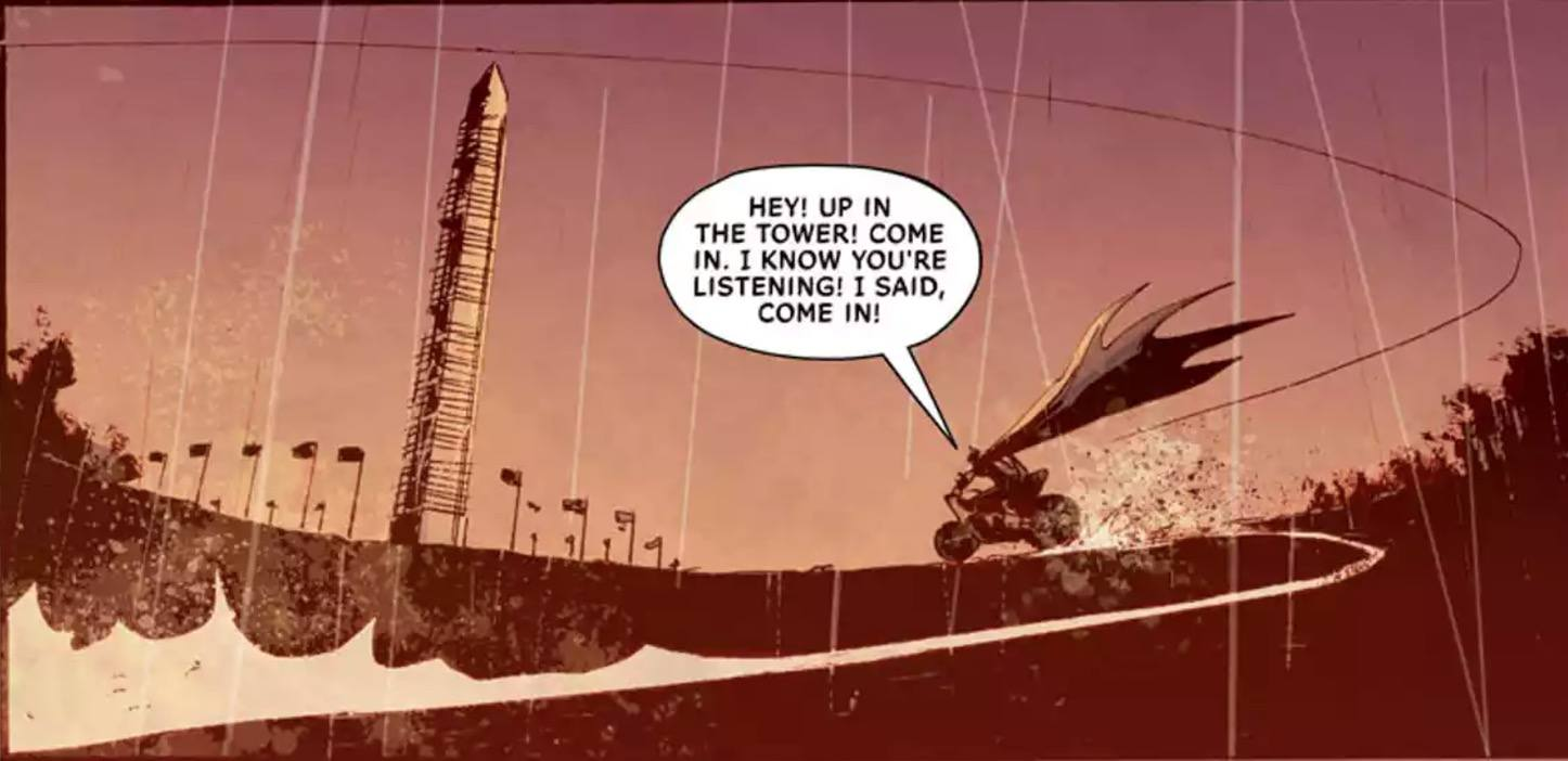 All Star Batman #9 Panel