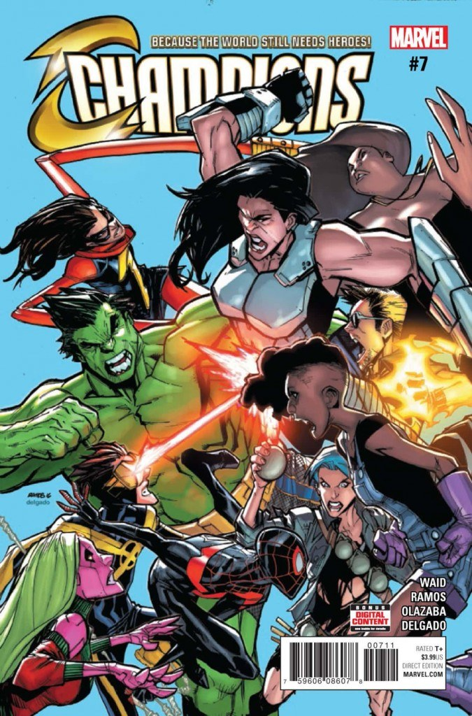 Champions #7 Review