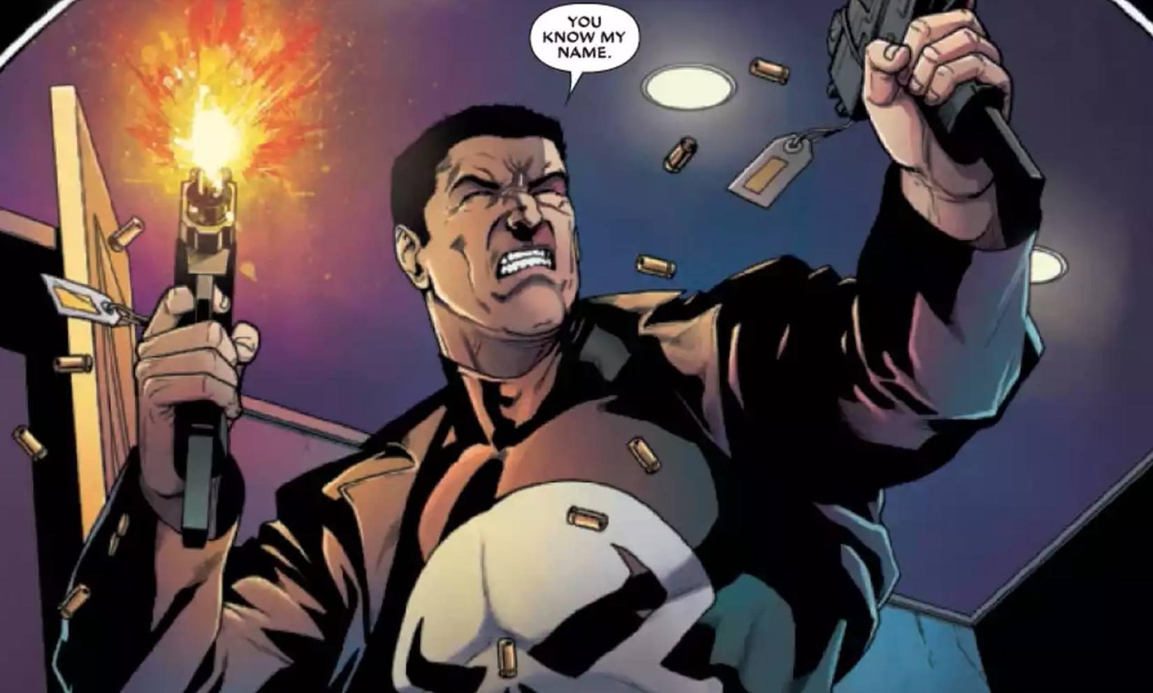 Deadpool vs Punisher #1 Panel