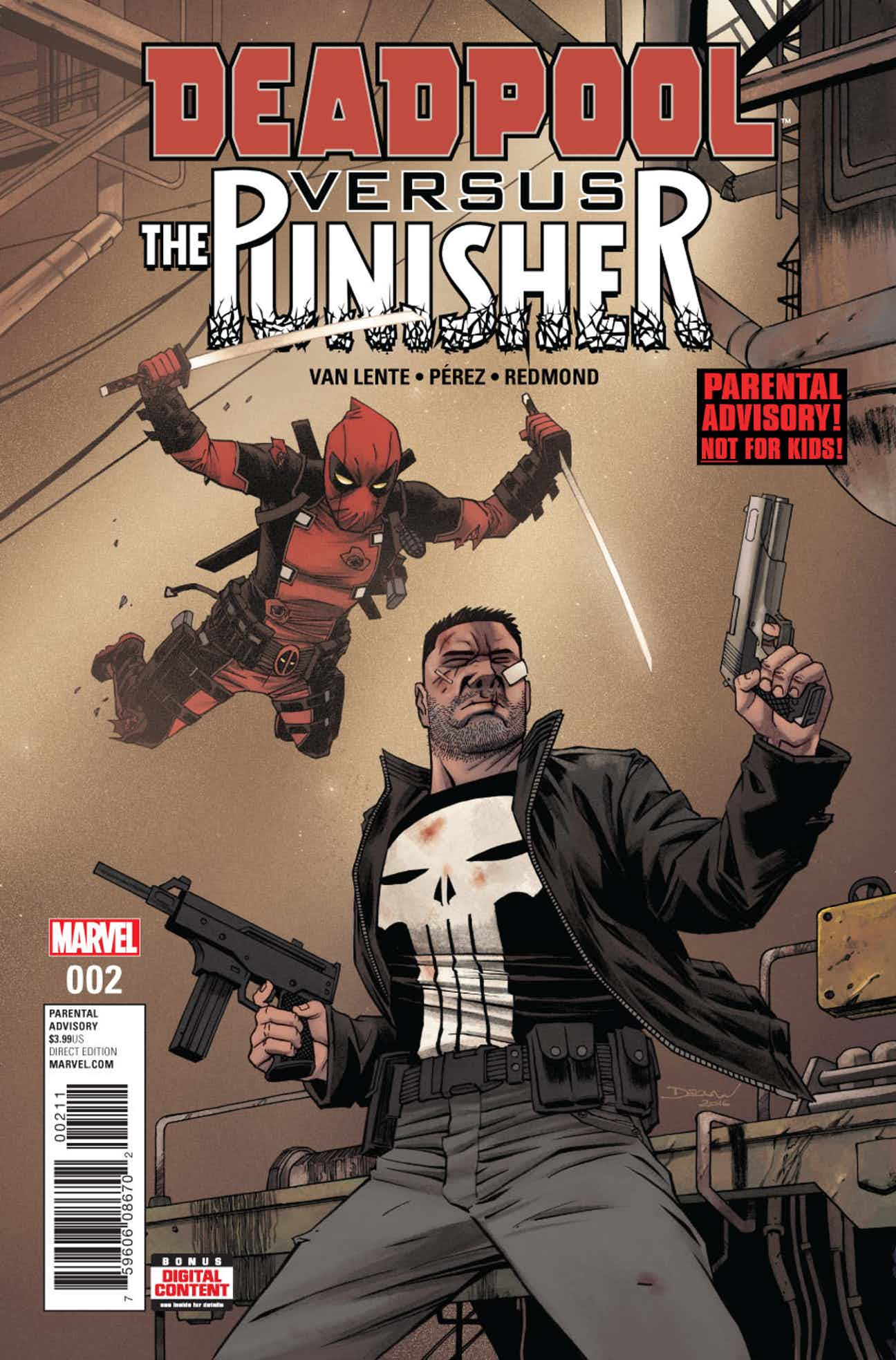 Deadpool vs The Punisher #2 Review