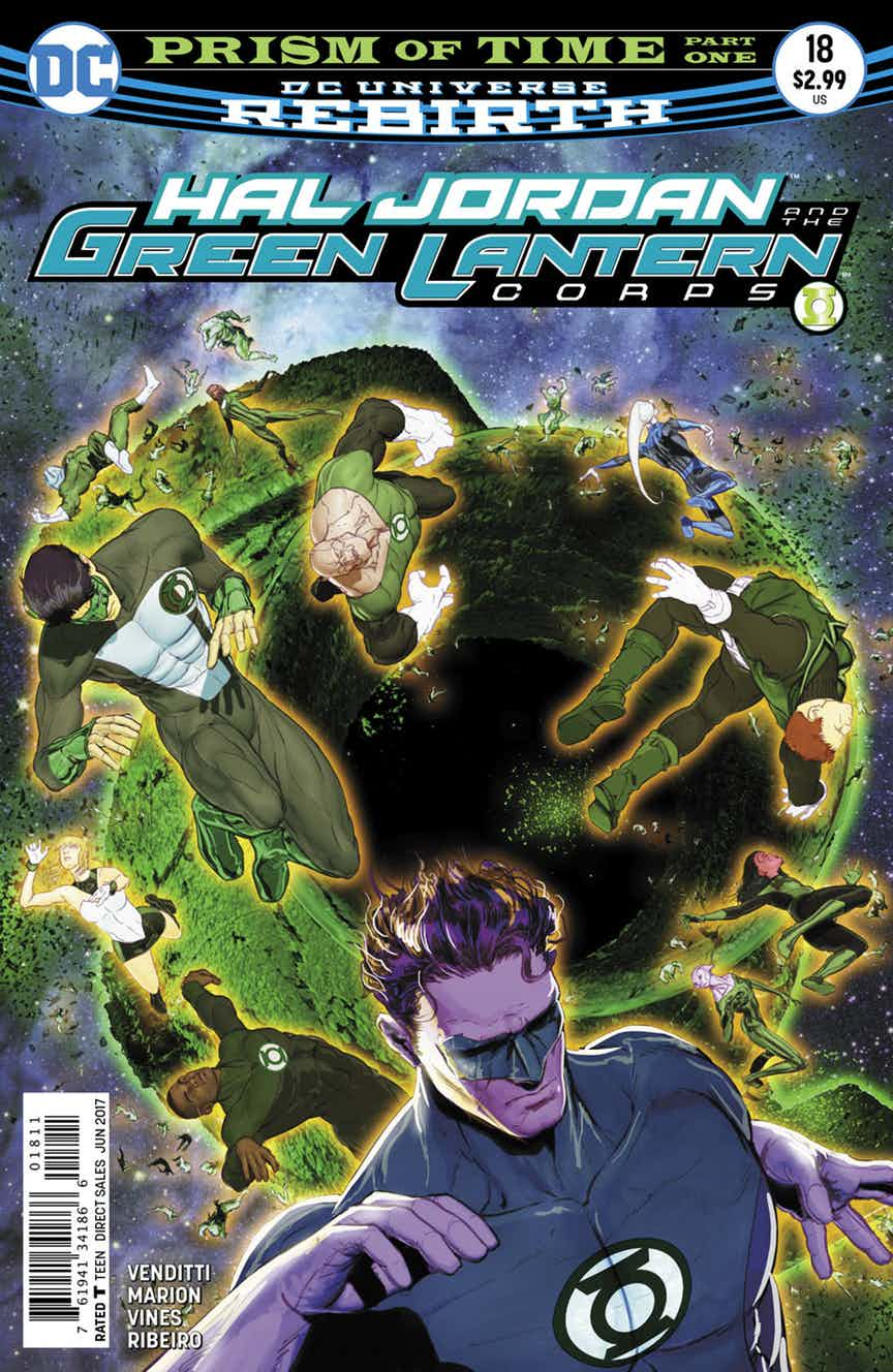 Hal Jordan and the Green Lantern Corps #18 Review