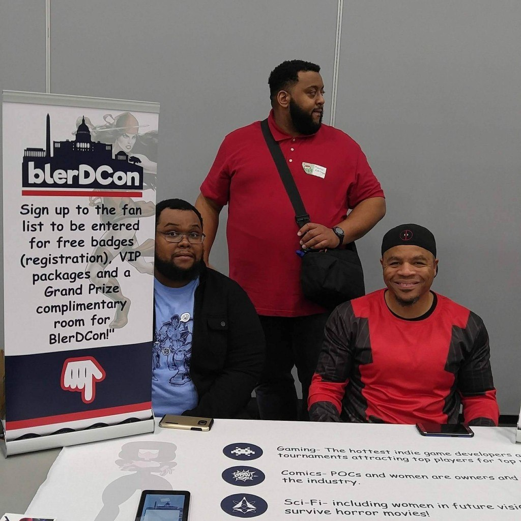 Blerdcon Insight: Interview with Creator Hilton George