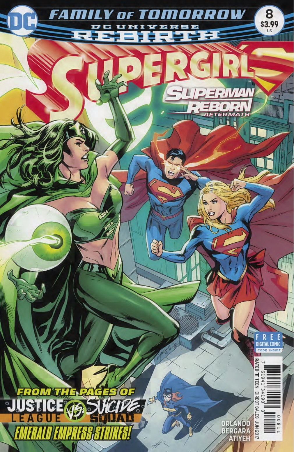 Supergirl #8 Review