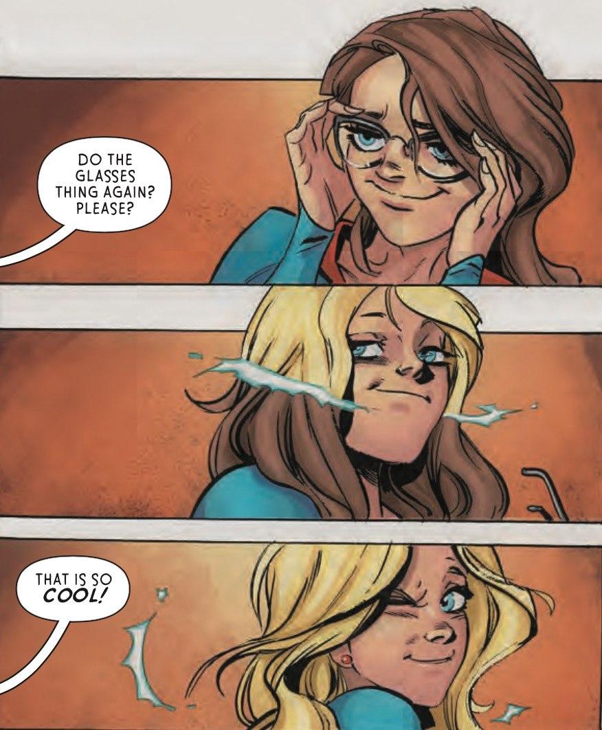 Supergirl #8 Panel 2