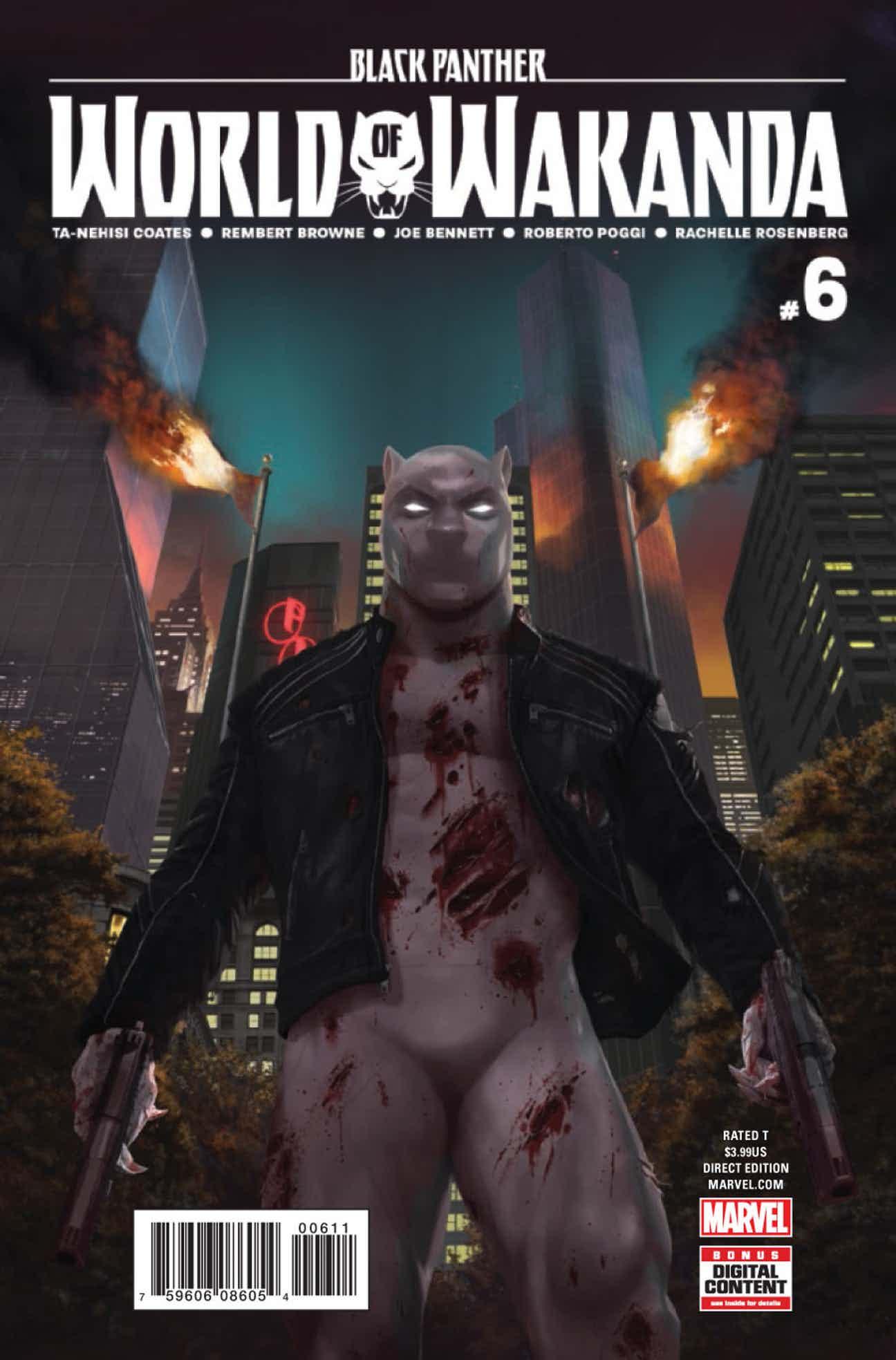 Black Panther: World of Wakanda #6 Review