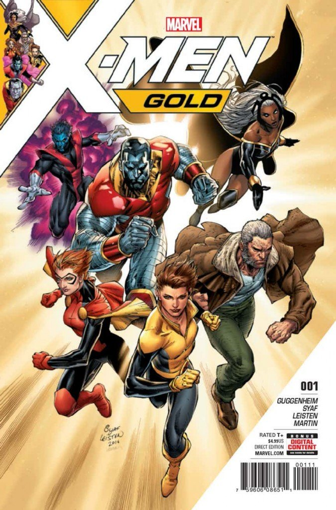 X-Men Gold #1 Review