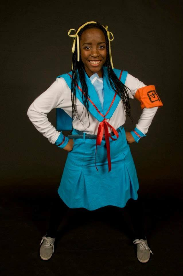 From My first cosplaying efforts: (Haruhi Suzumiya from The Melancholy Oh Haruhi Suzumiya, [Photo Credit: Droo Photography]