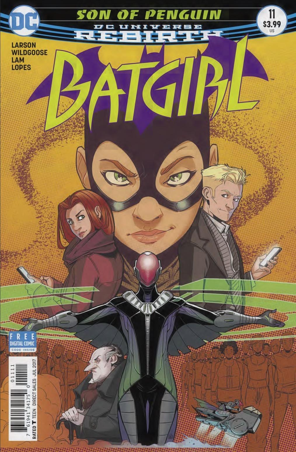 Batgirl #11 Review