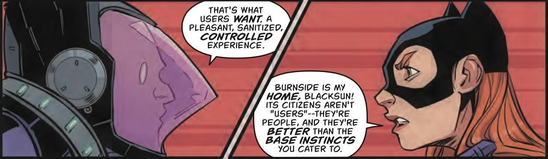 Batgirl #11 Panel 2