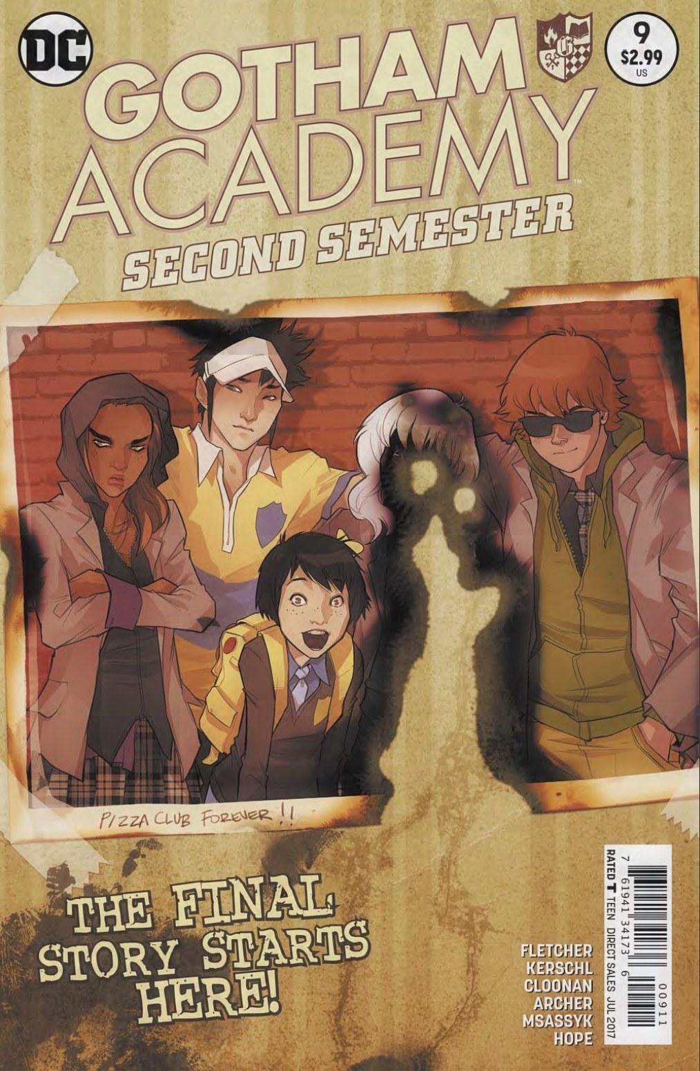 Gotham Academy Second Semester #9 Review