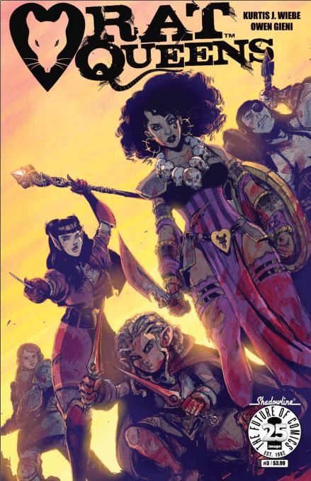 Rat Queens Vol 2, #3 Review