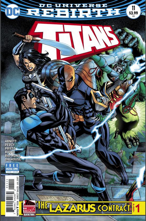 Titans #11 Review